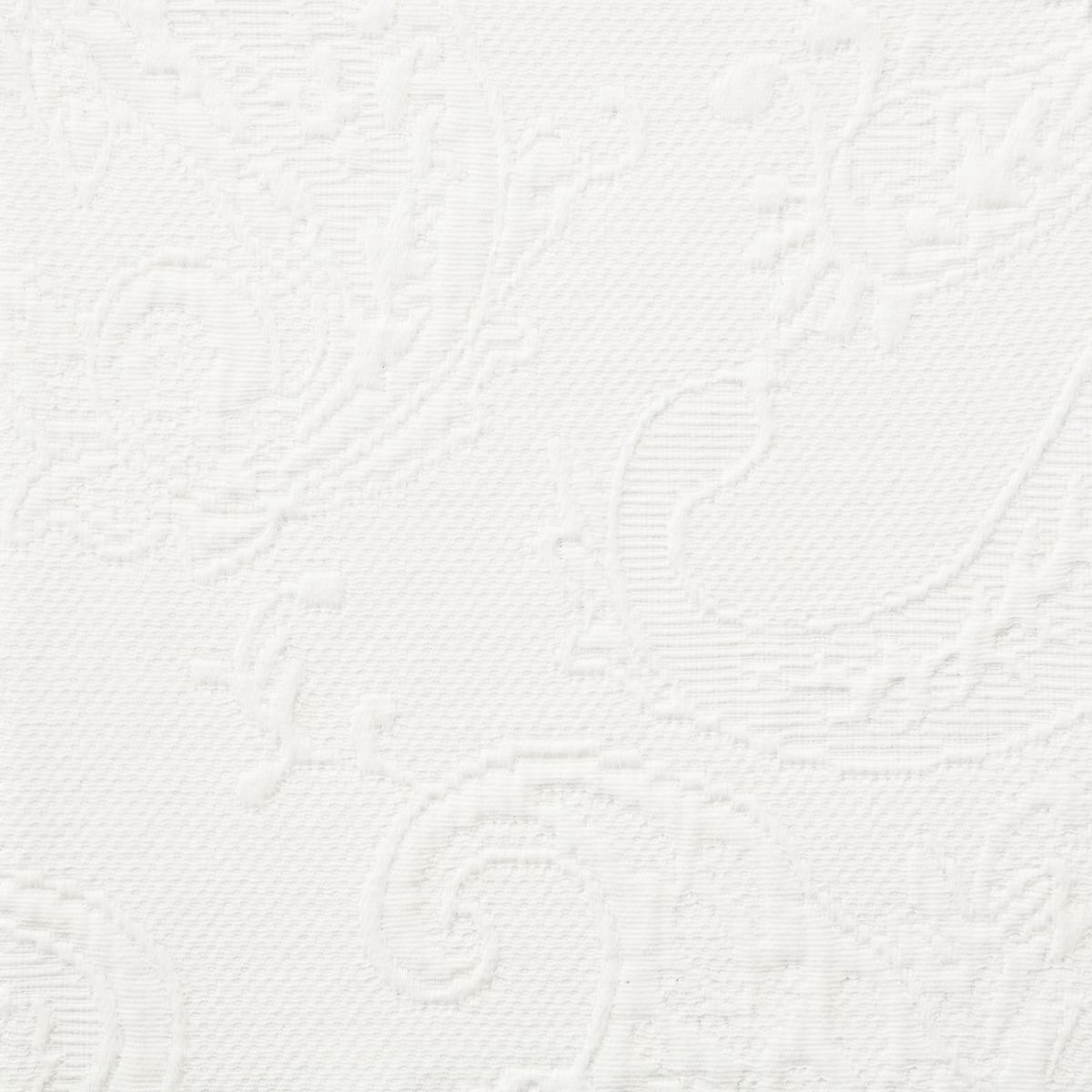 white matelasse