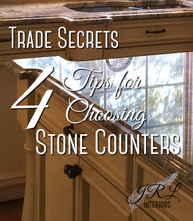 tips for choosing stone counters