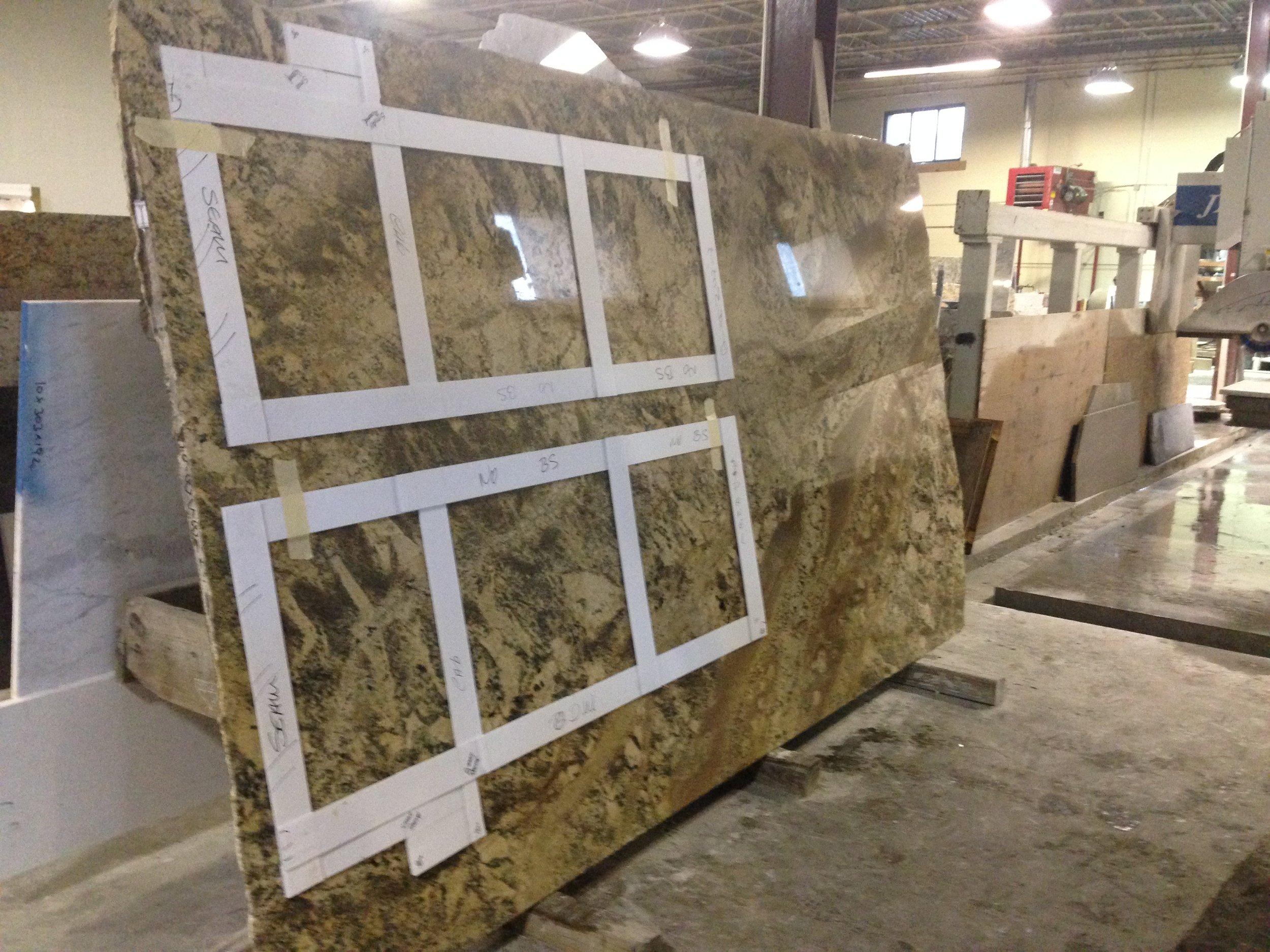 granite templating