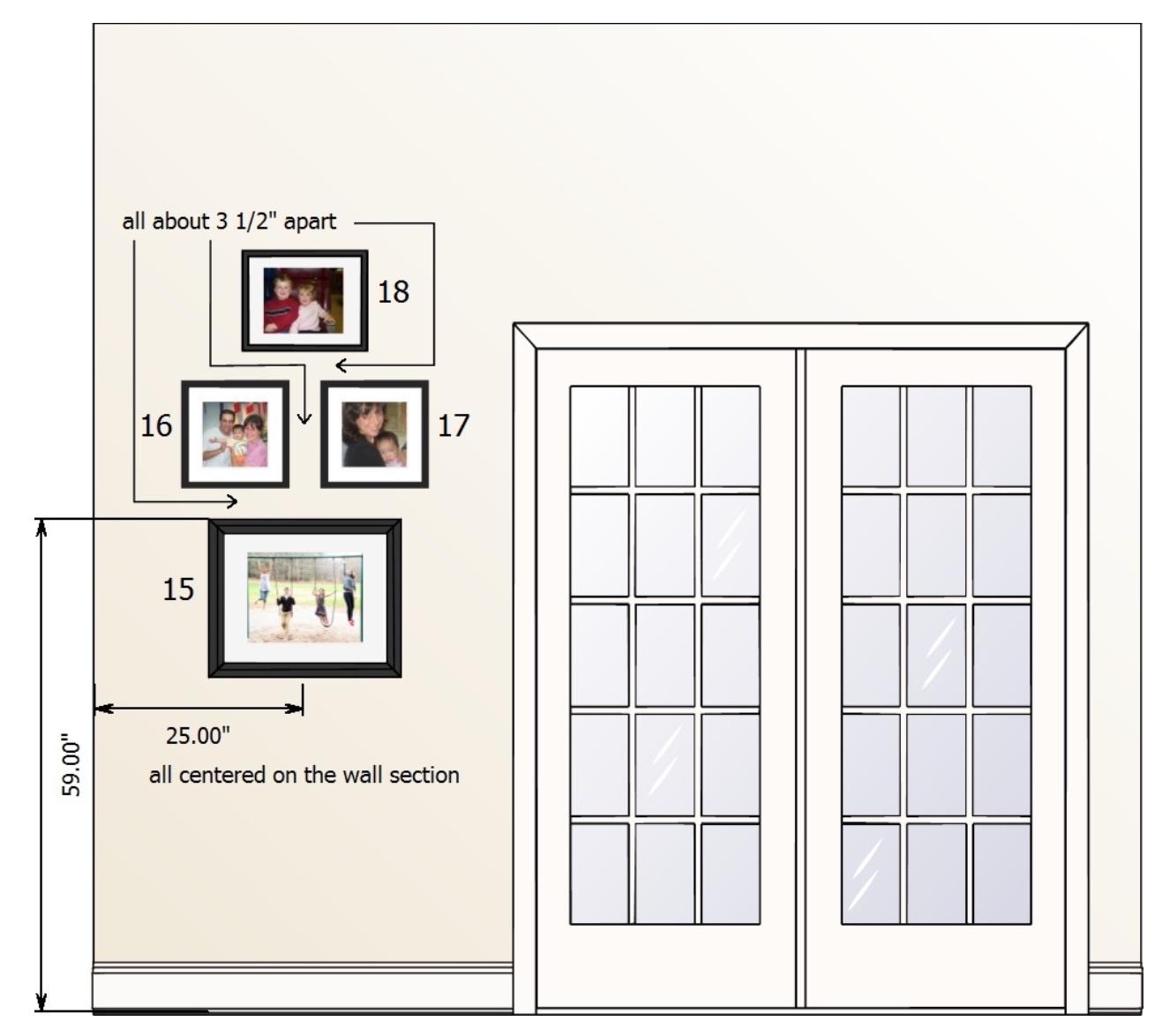 gallery wall specs