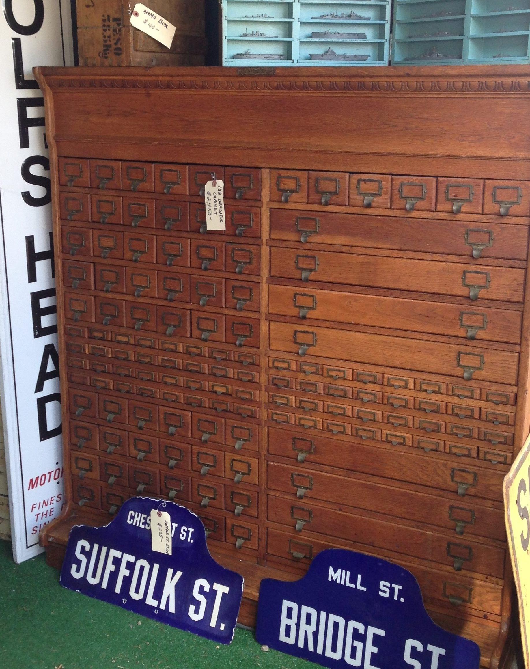 124 drawer chest