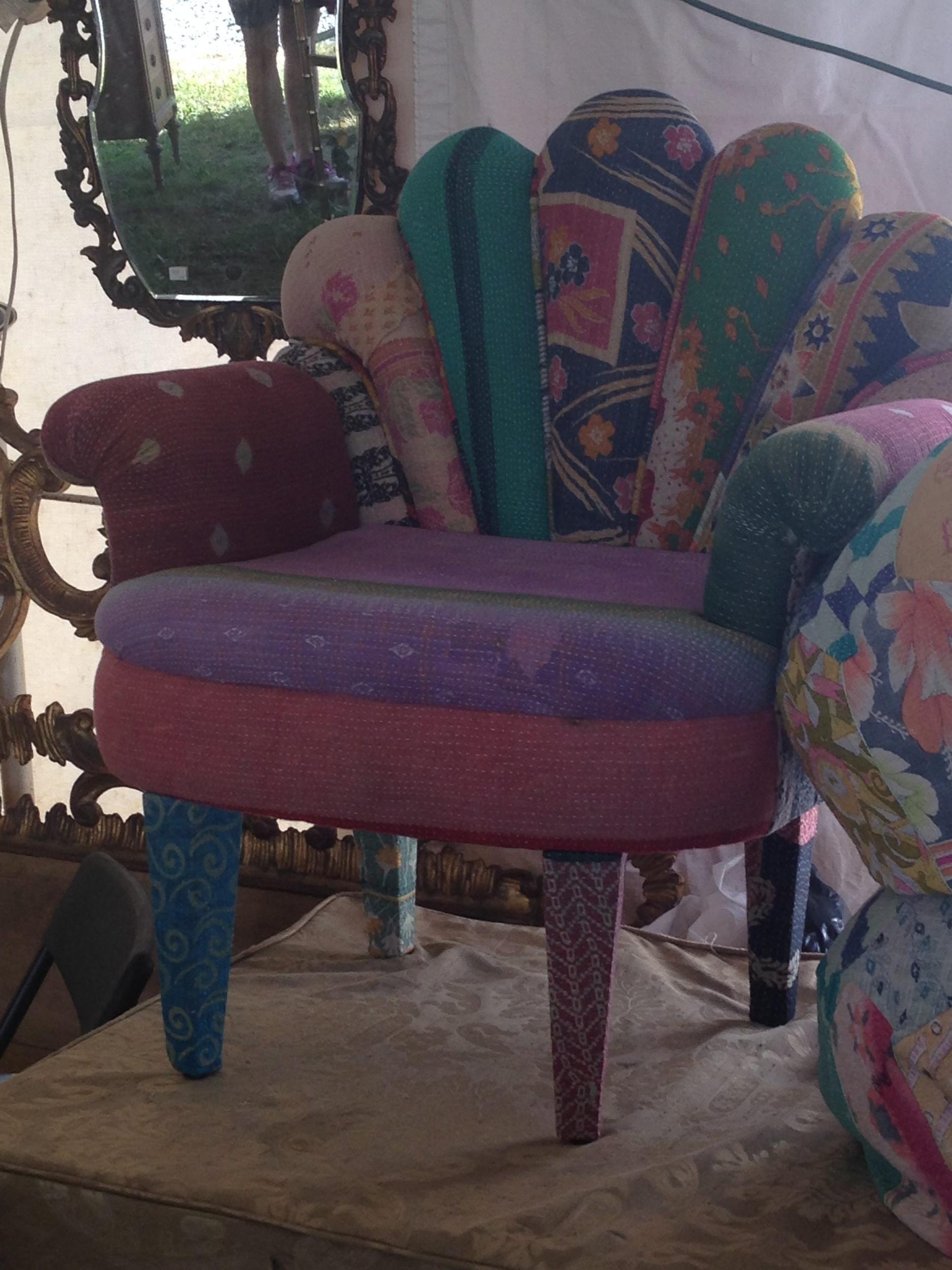 multi fabric chair