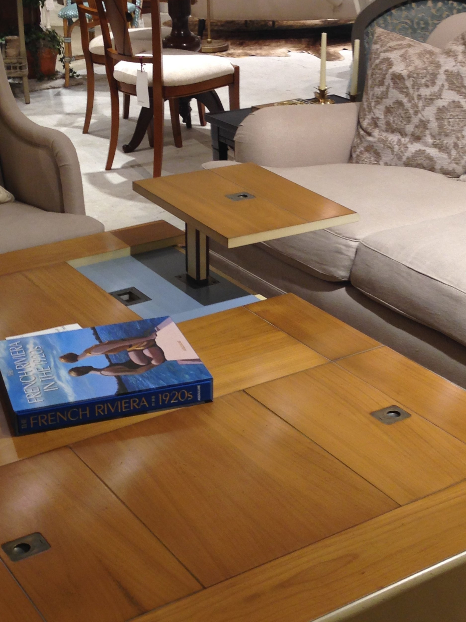 Grange convertible coffee table