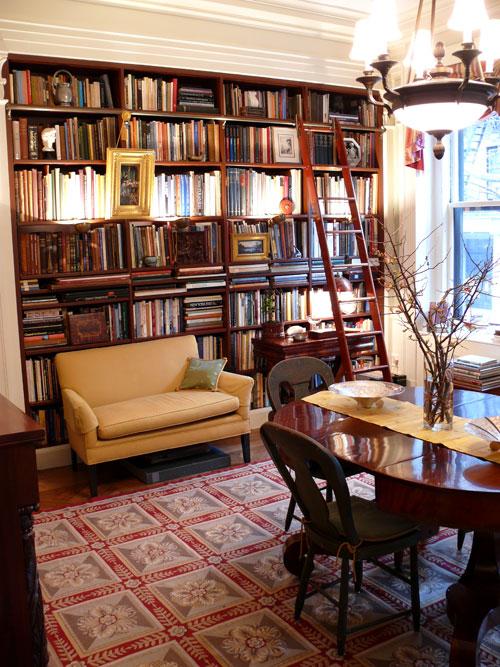 Home of architect Don Rattner  via  NY Social Journal