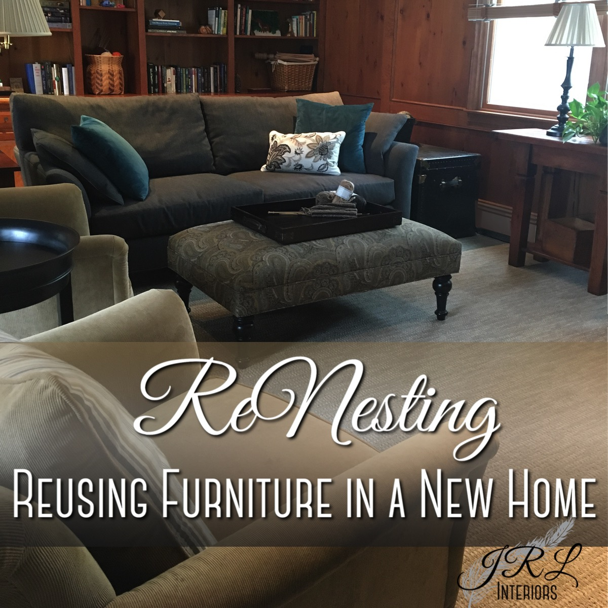 Reusing furniture in a new home