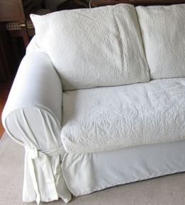 sloppy slipcover
