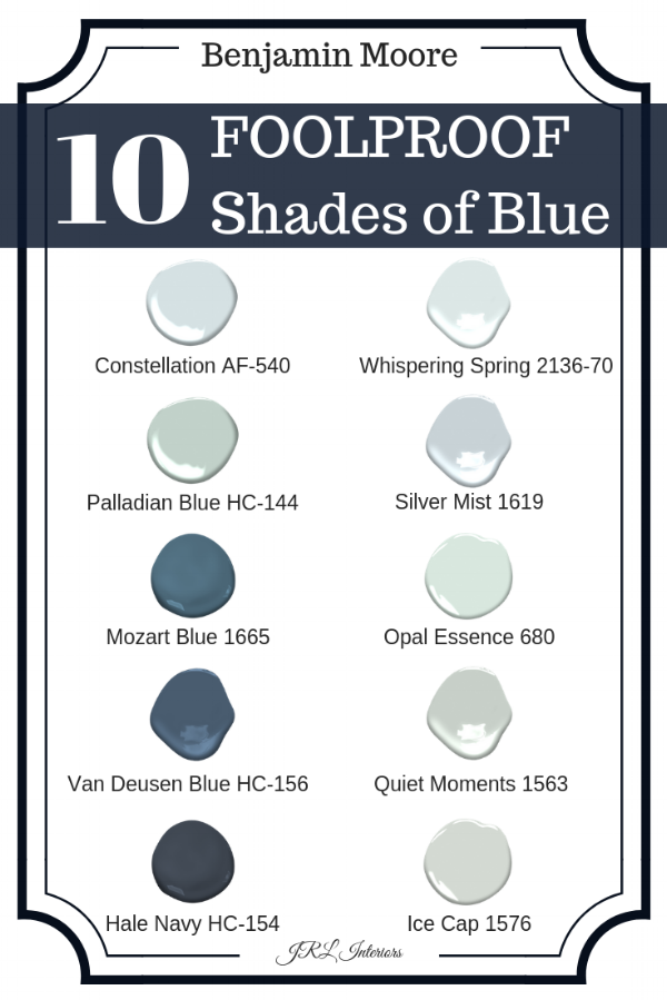 The 10 Best Shades of Blue Paint