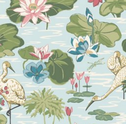 lily pad wallpaper