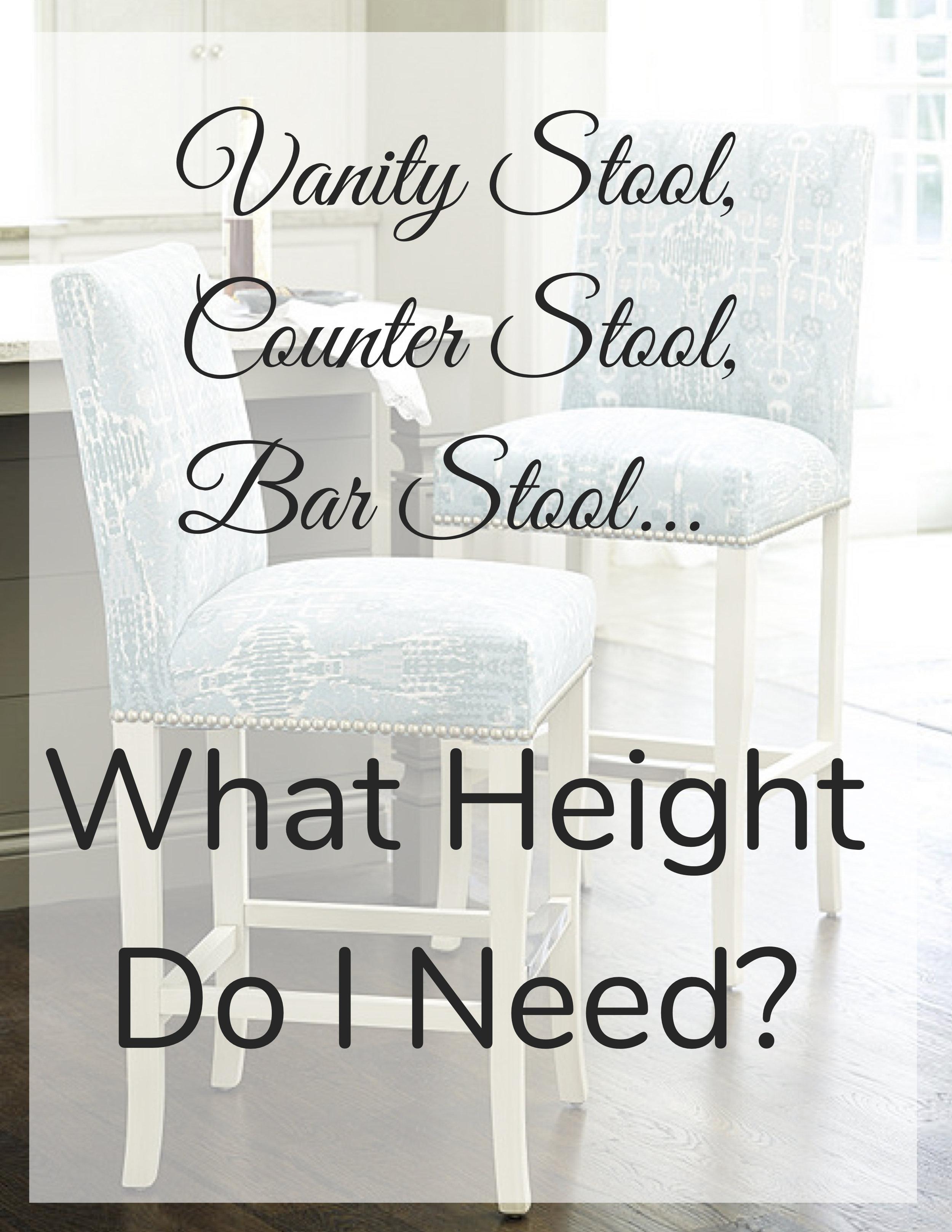 Vanity Stool,Counter Stool,Bar Stool...What height do I need_.jpg