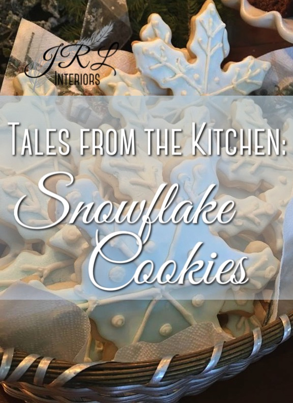 Tales from the Kitchen Snowflake Cookies