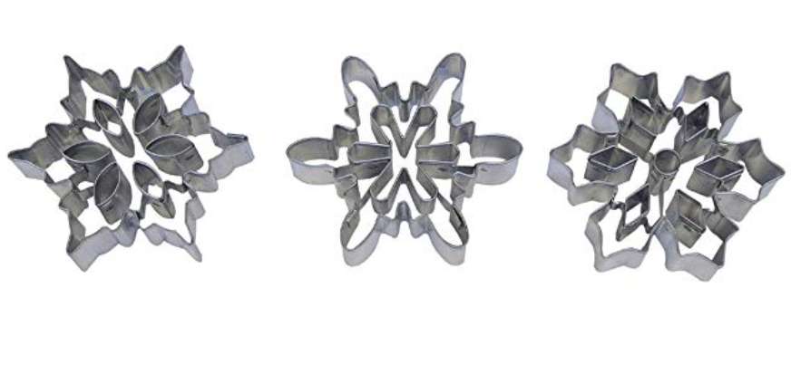 snowflake set with cutouts