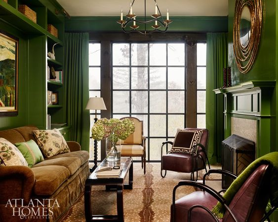 via   Atlanta Homes Magazine     architect D. Stanley Dixon and interior designer Heather Dewberry. photo by Emily Followill