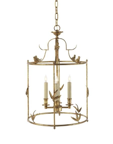 bird lantern pendant