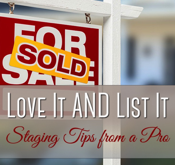 Love it AND List it staging tips from a pro