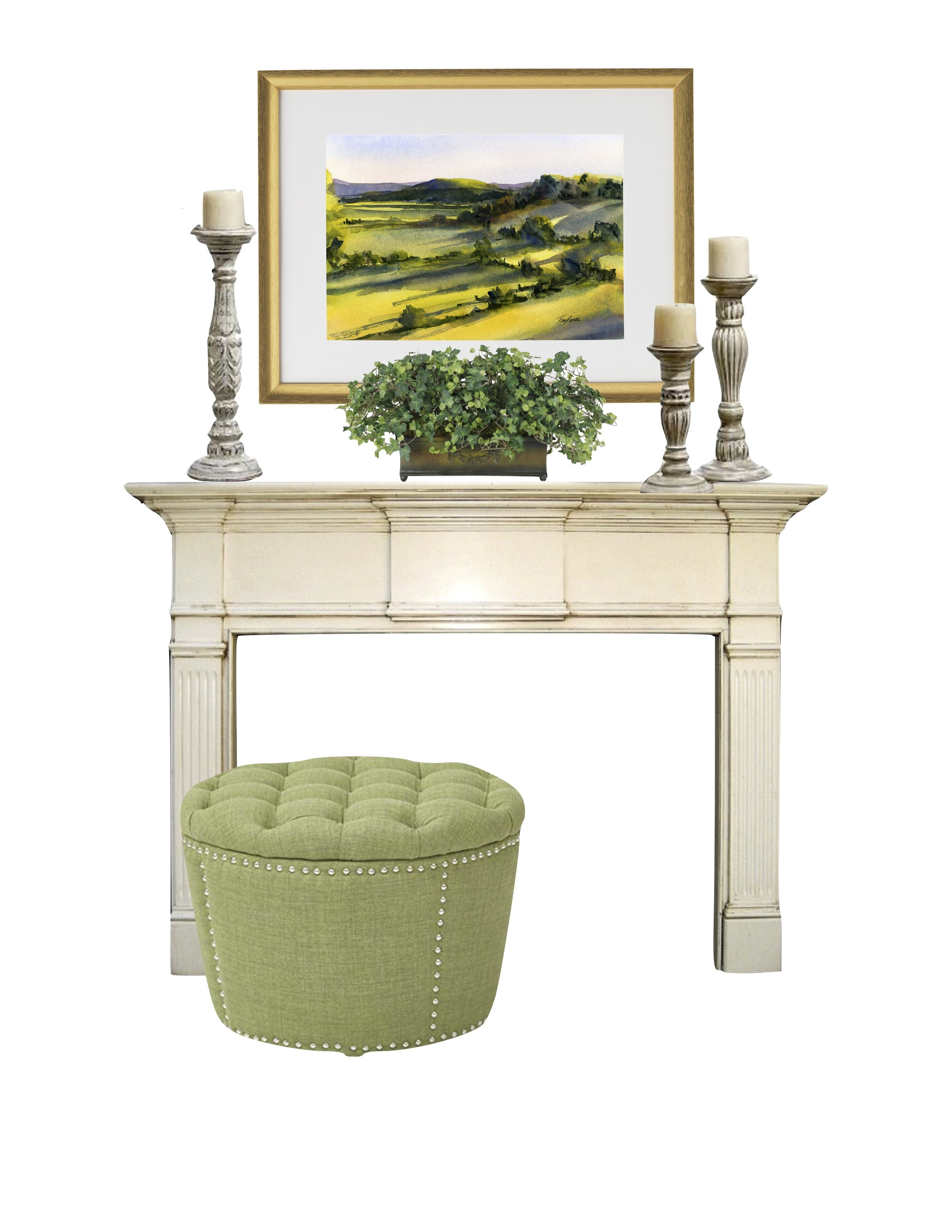 Artwork   |   Planter   |   Ottoman   |   Similar Candlesticks