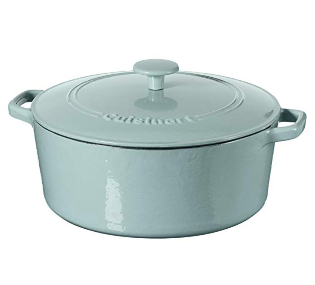 heavy covered baking pot