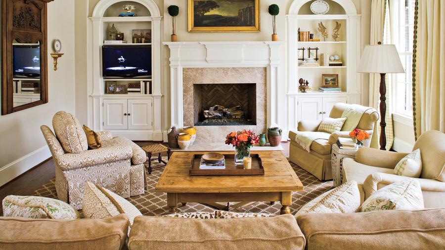 via   Southern Living  , Design by   Brooke Sevier   and Meg White, Photo by   Laurey Glenn