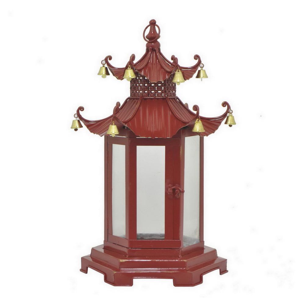 red pagoda lantern