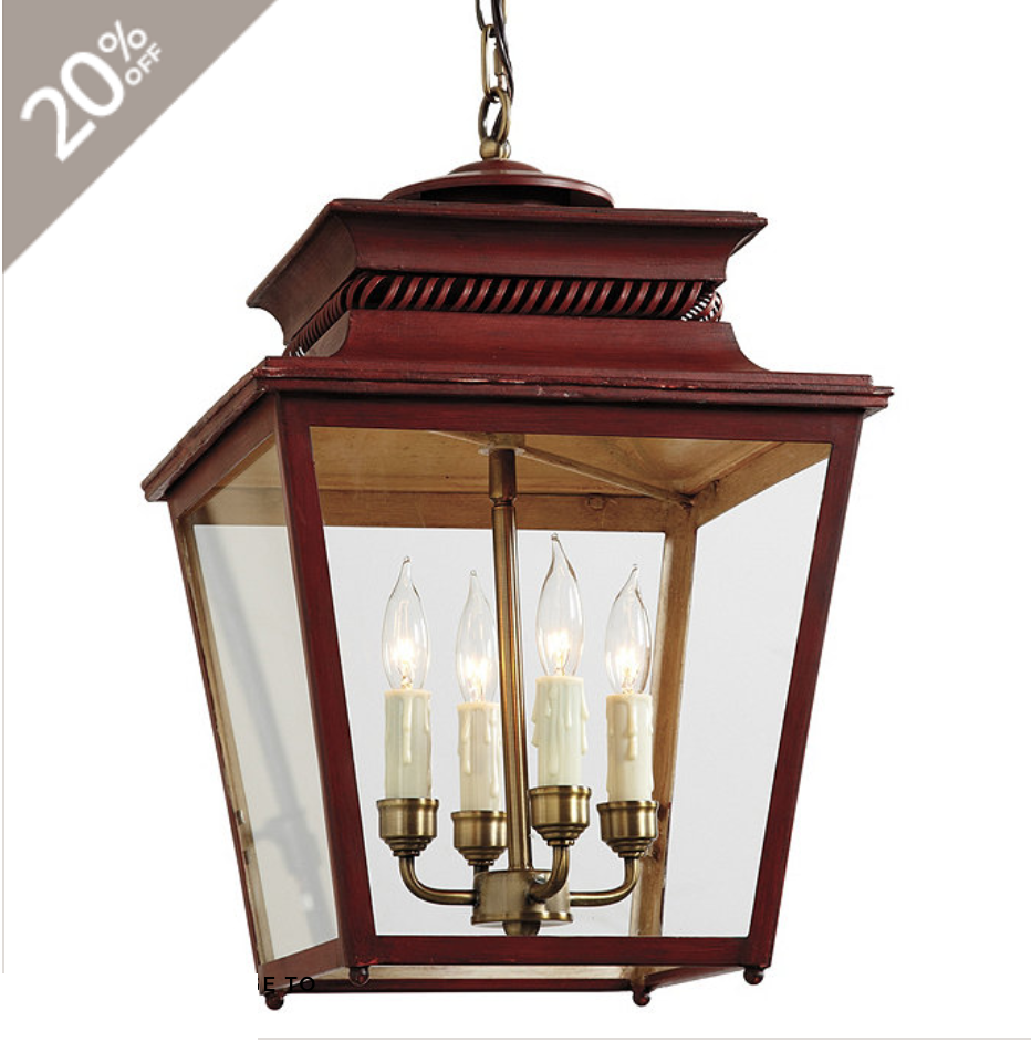 red lantern pendant