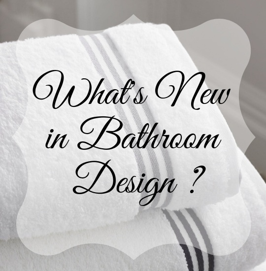What's New in Bathroom Design from JRL Interiors 01720