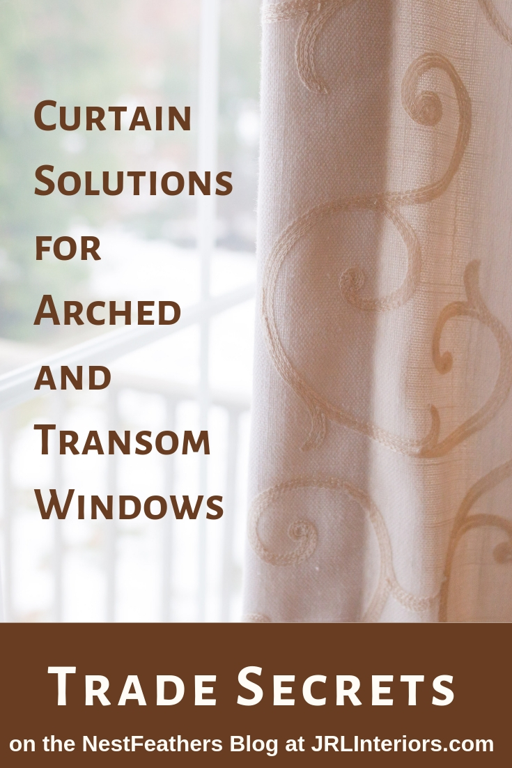 Curtain solutions for difficult windows