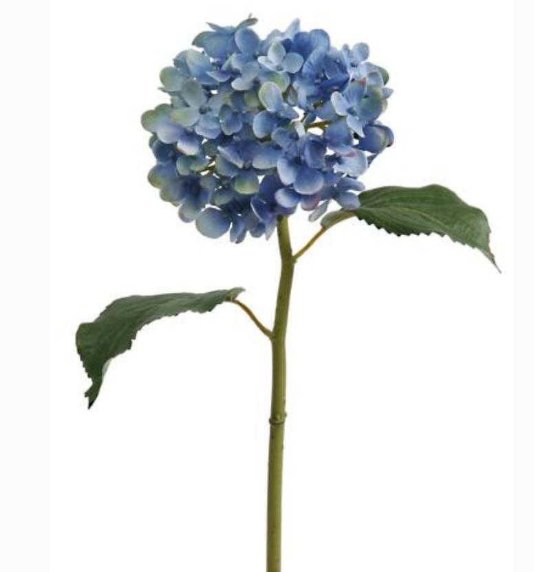 faux hydrangea stem