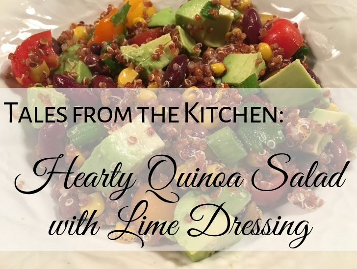 Quinoa salad with lime dressing recipe