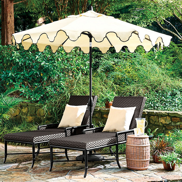 scalloped umbrella (other colors available)