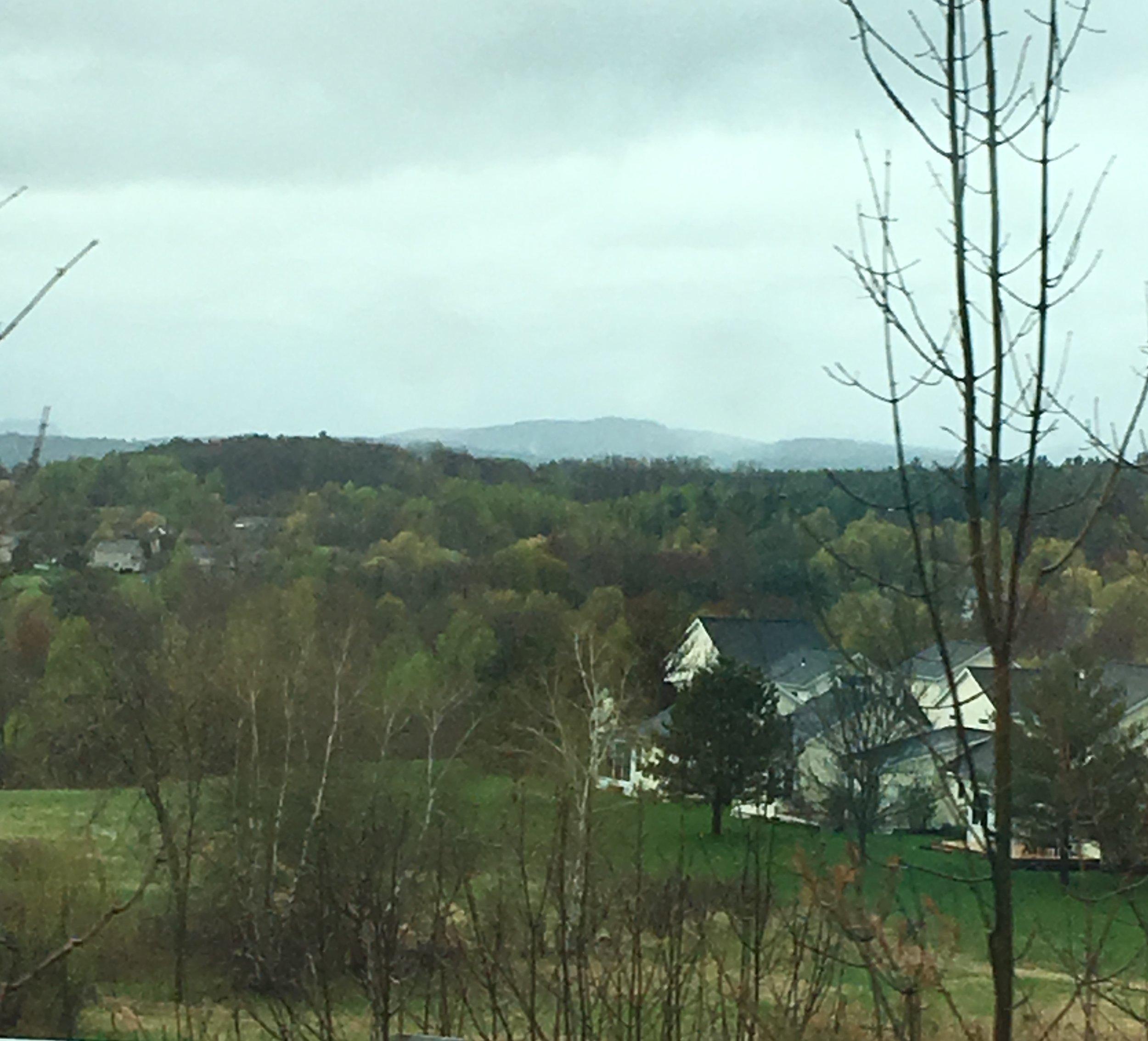 Vermont hills