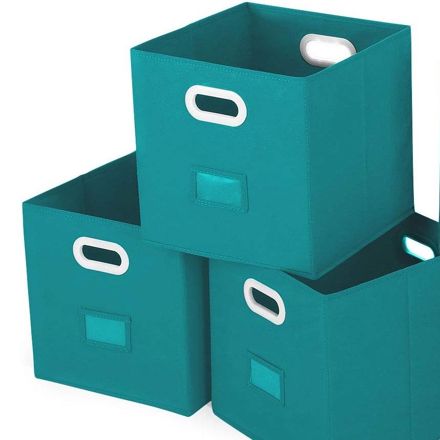 foldable fabric bins