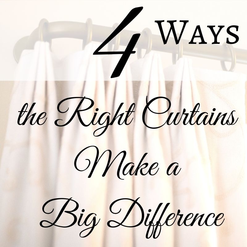 4 ways  the right curtains make a big difference by JRL Interiors, Interior Designer,  01720