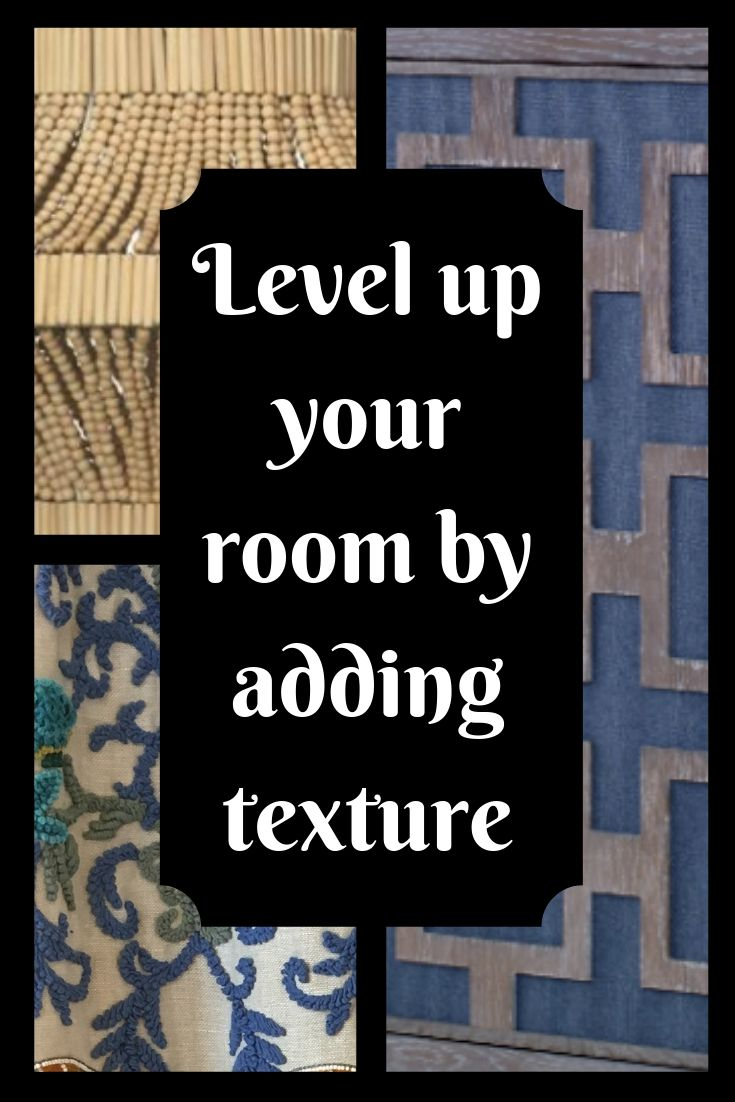 Level up your room with texture