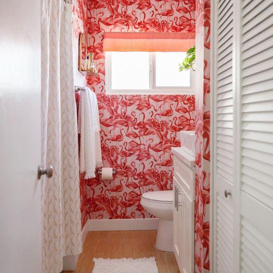 Flamingo wallpaper by  Tempaper