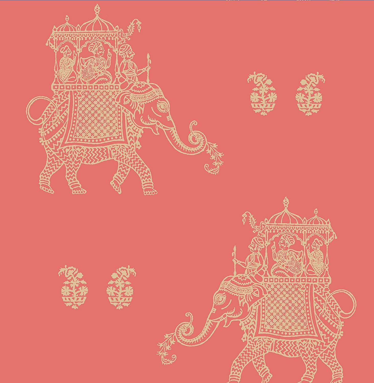 Ophelia Elephant Wallpaper