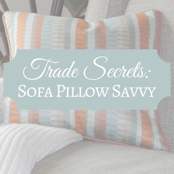 Sofa throw pillows and how to arrange them