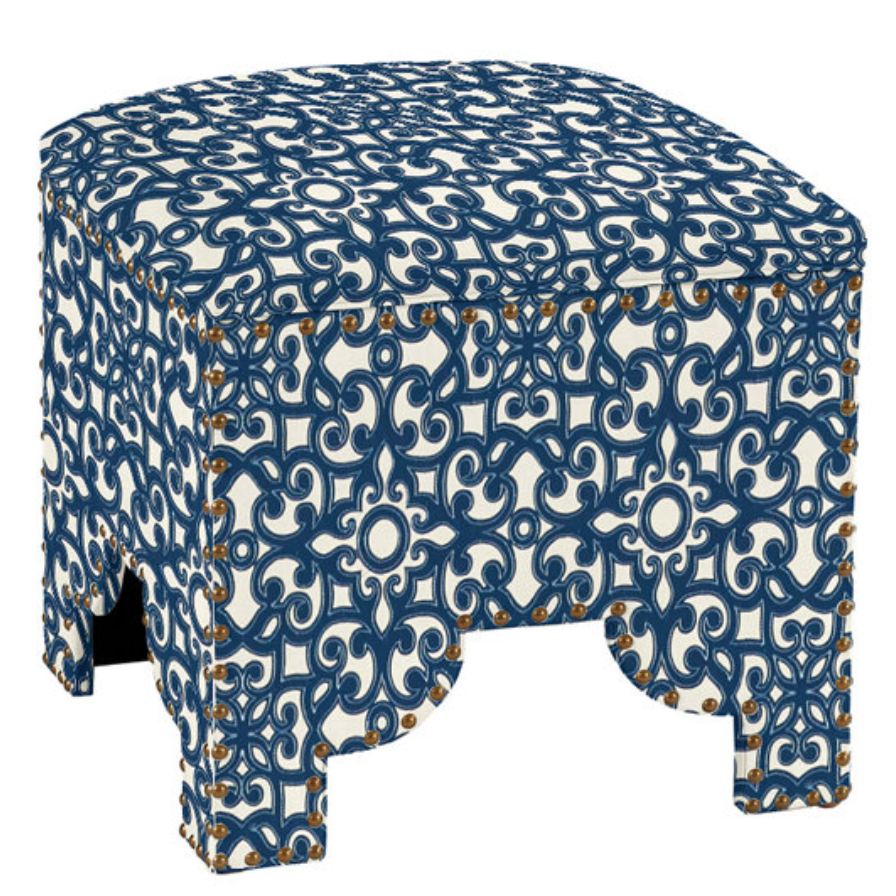 Storage Ottoman (other fabrics available)