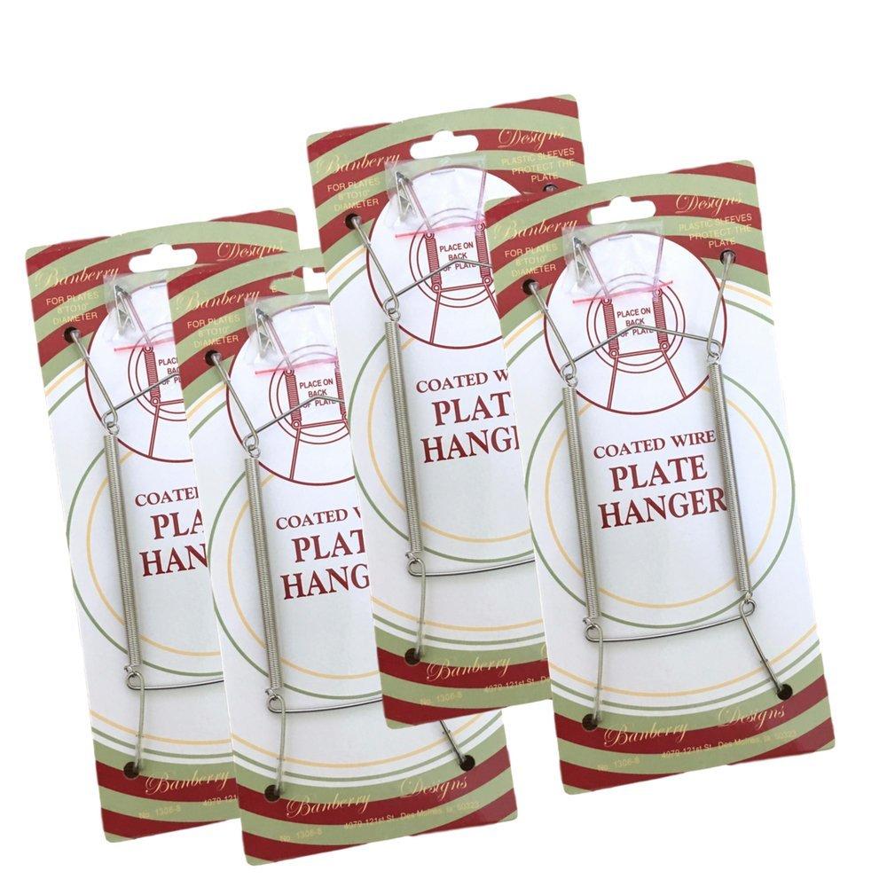 Plate Hangers w/ Vinyl Tips
