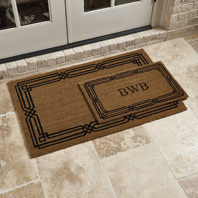 Personalized coir doormat (2 sizes)