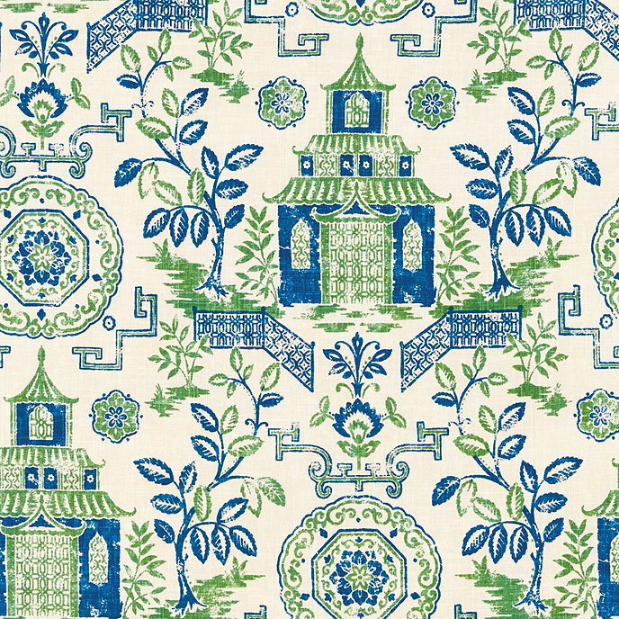 Pagoda linen weave fabric