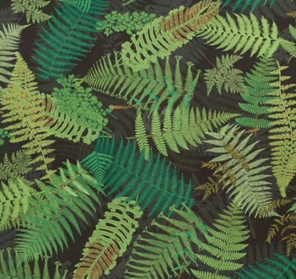 Fernarium wallcovering (also as fabric)