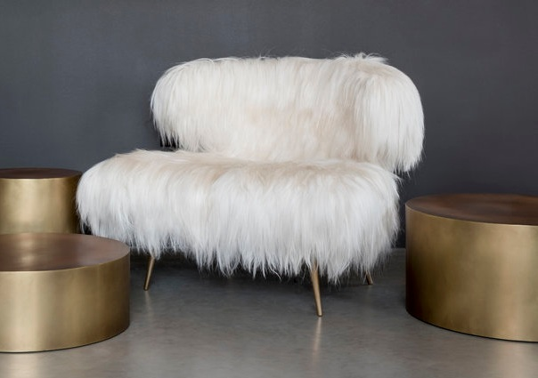 Wooly Bella chair from   Videre Licet