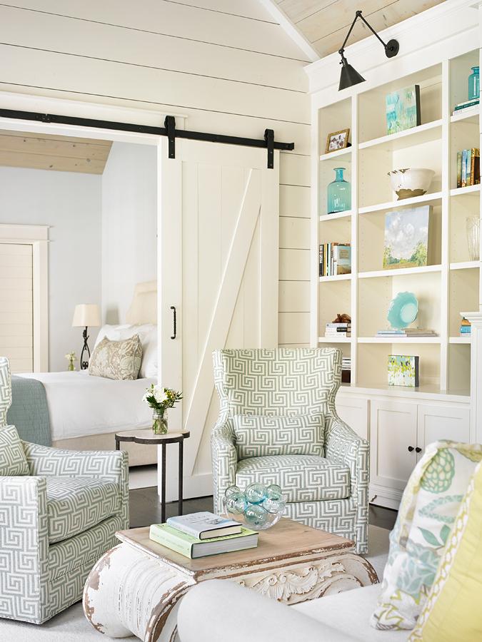 Atlanta Guest House Interior Design:  Tillman Long Interiors  ] Architect:  D. Stanley Dixon  ] Builder:   Ladisic Fine Homes ]   Photo:   Emily Jenkins Followill