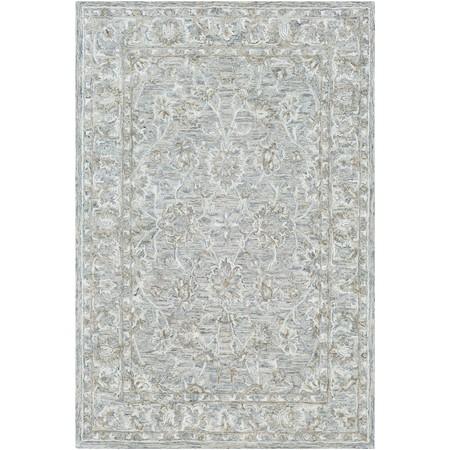 Silk and wool rug
