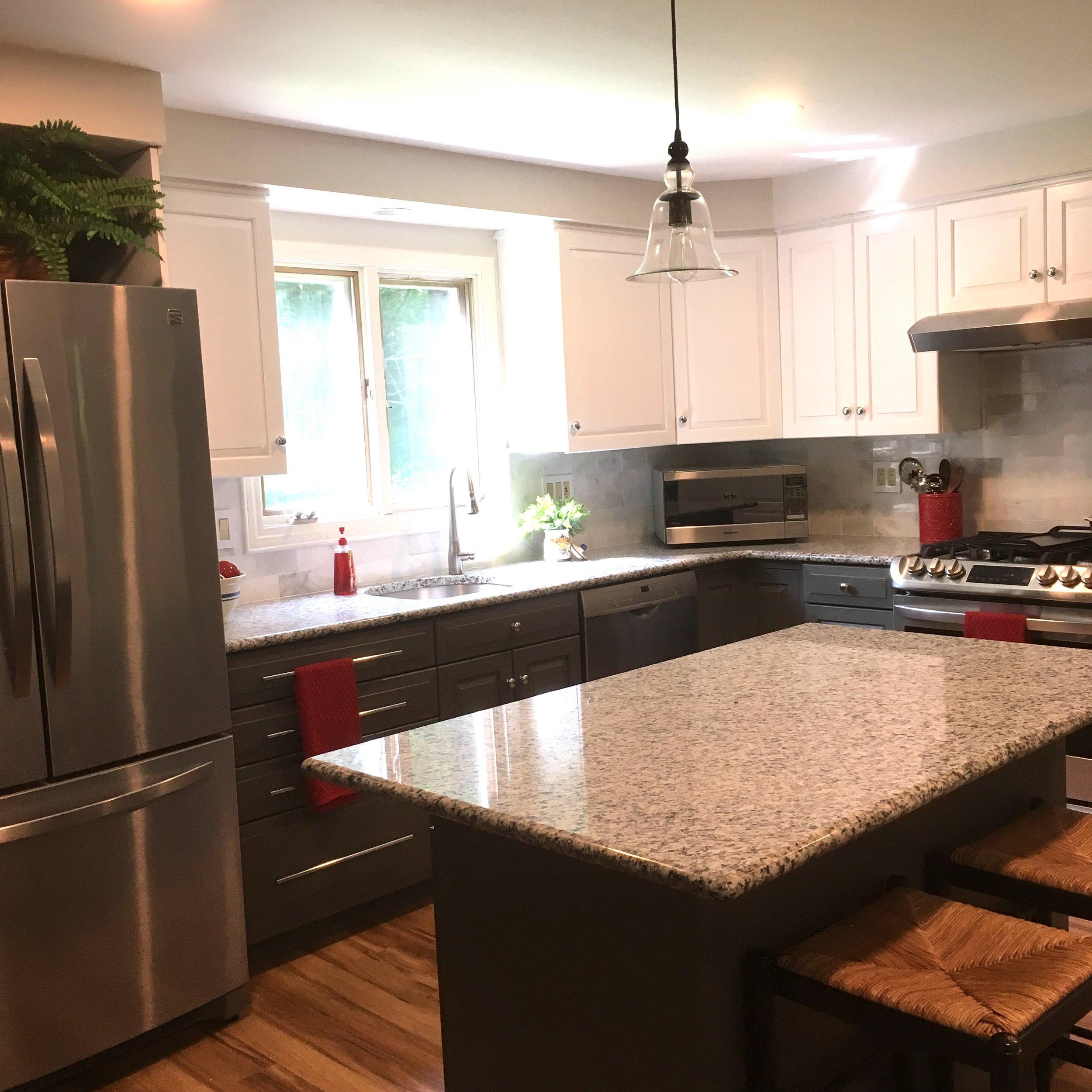 Kitchen makeover JRL Interiors 01720