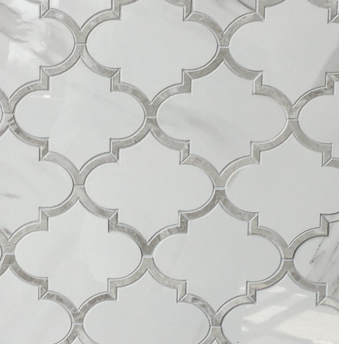 An elegant arabesque pattern