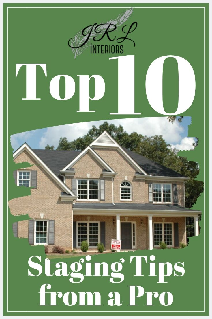 Top 10 Staging Tips