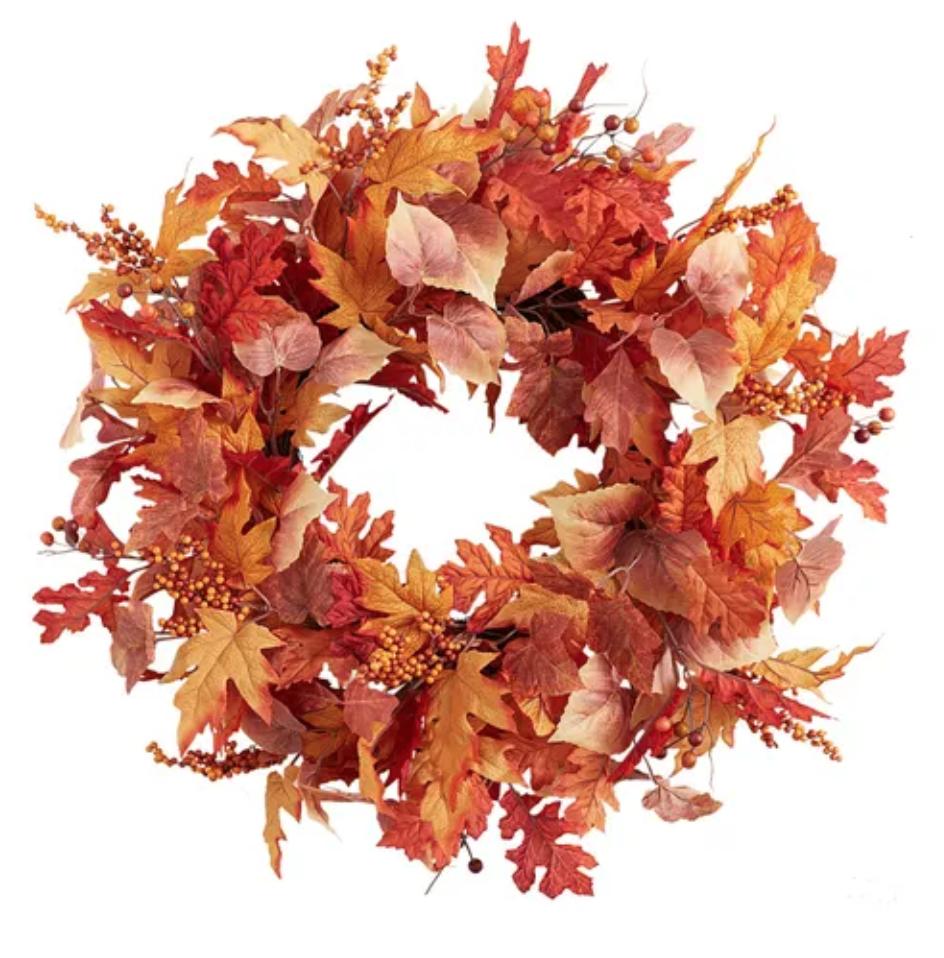 "Oak leaf wreath 26"""