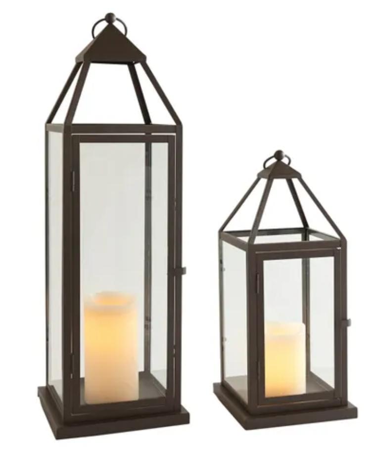 large and extra large lanterns
