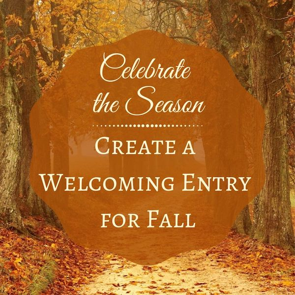 decorate your entry for fall  by JRL Interiors 01720