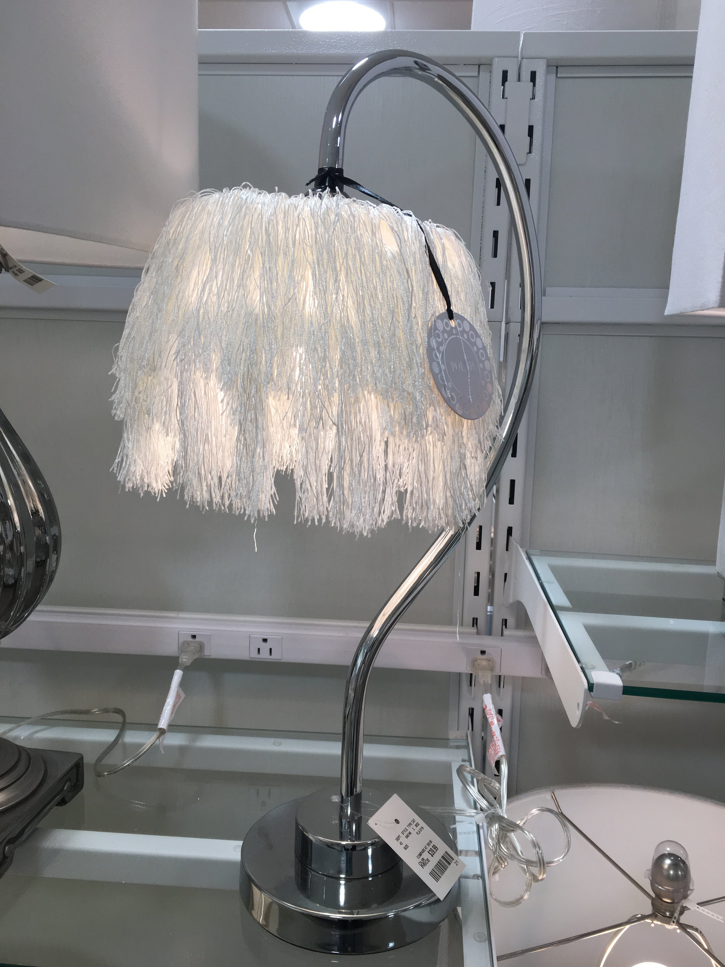 Okay, this one MIGHT have merit for a tween bedroom with a 20's vibe, but it looks like it needs a trim and some detangler!
